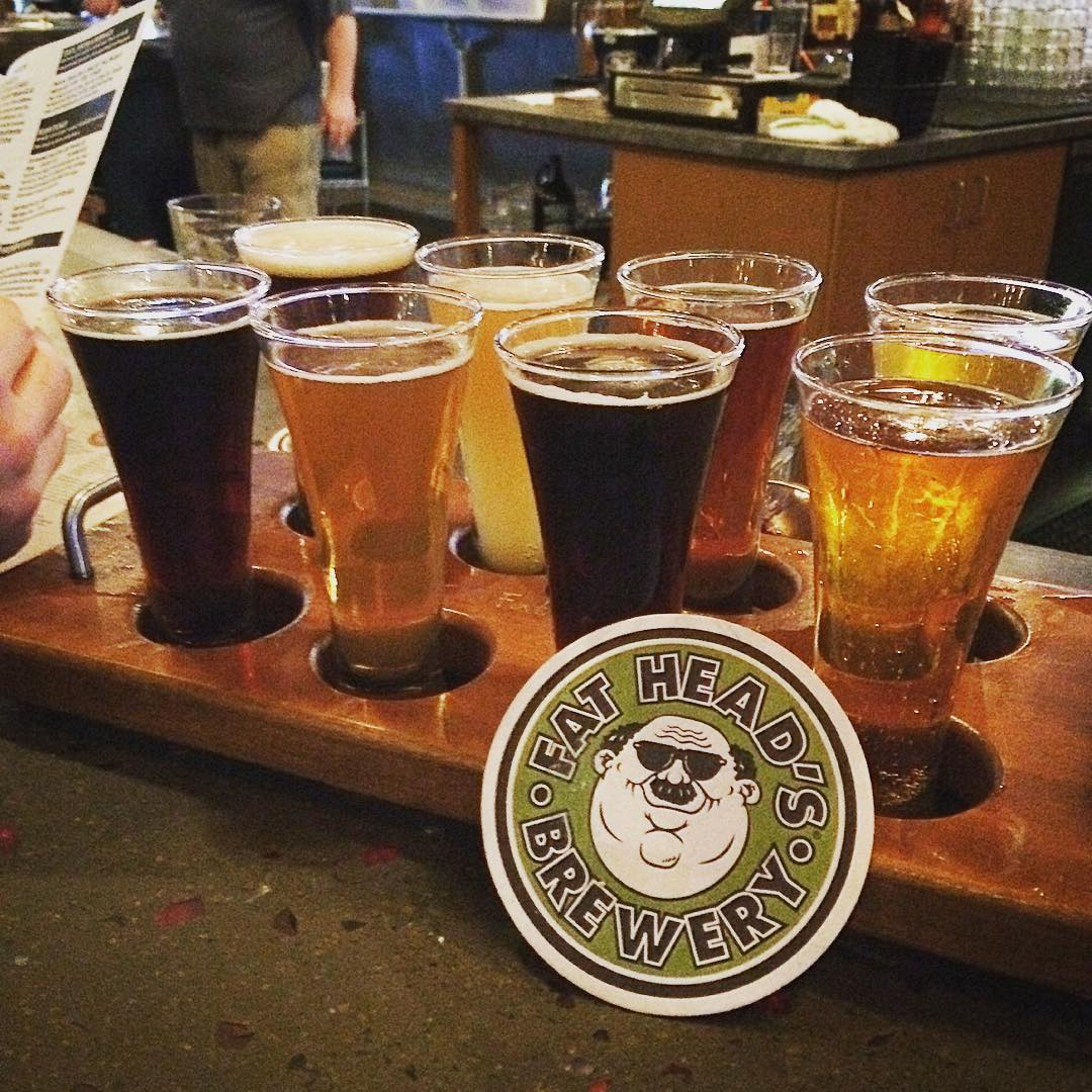 Fat Head's Brewery Flight